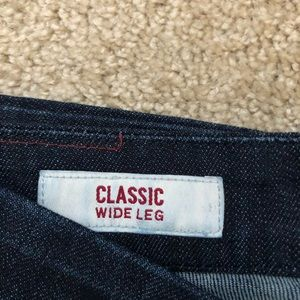 Banana Republic Jeans - Banana Republic Classic Wide-leg Dark wash Pants